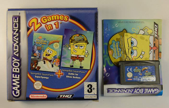 2 Games in 1 - Spongebob Squarepants Supersponge + Spongebob Squarepants Battle For Bikini Bottom&extralang=
