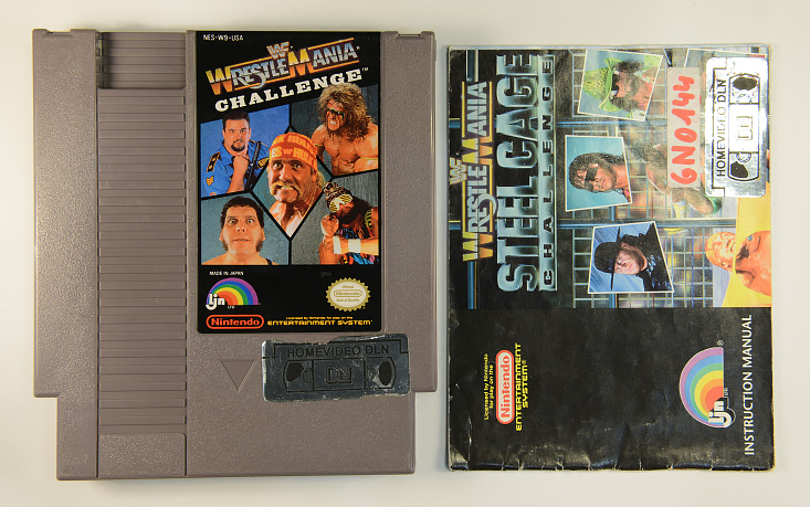 WWF Wrestle Mania - Steel Cage Challenge - USA Version&extralang=