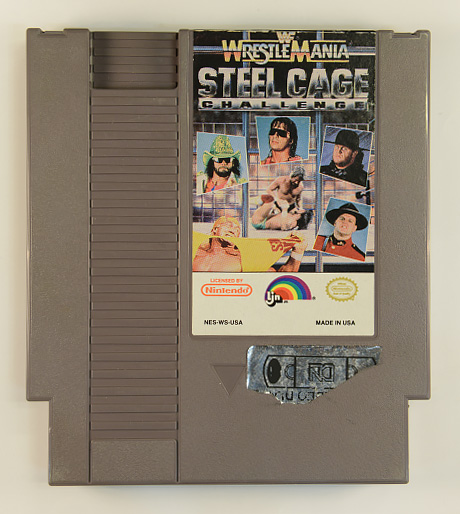 WWF Wrestle Mania - Steel Cage Challenge&extralang=