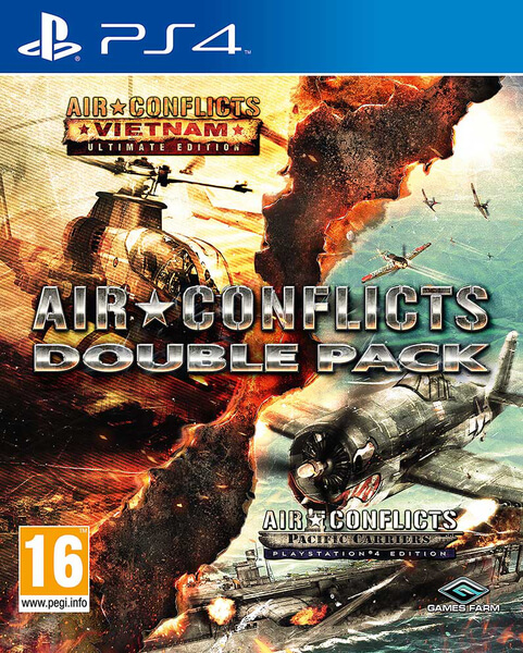 Air Conflicts Double Pack (Box UK - Game MULTI)